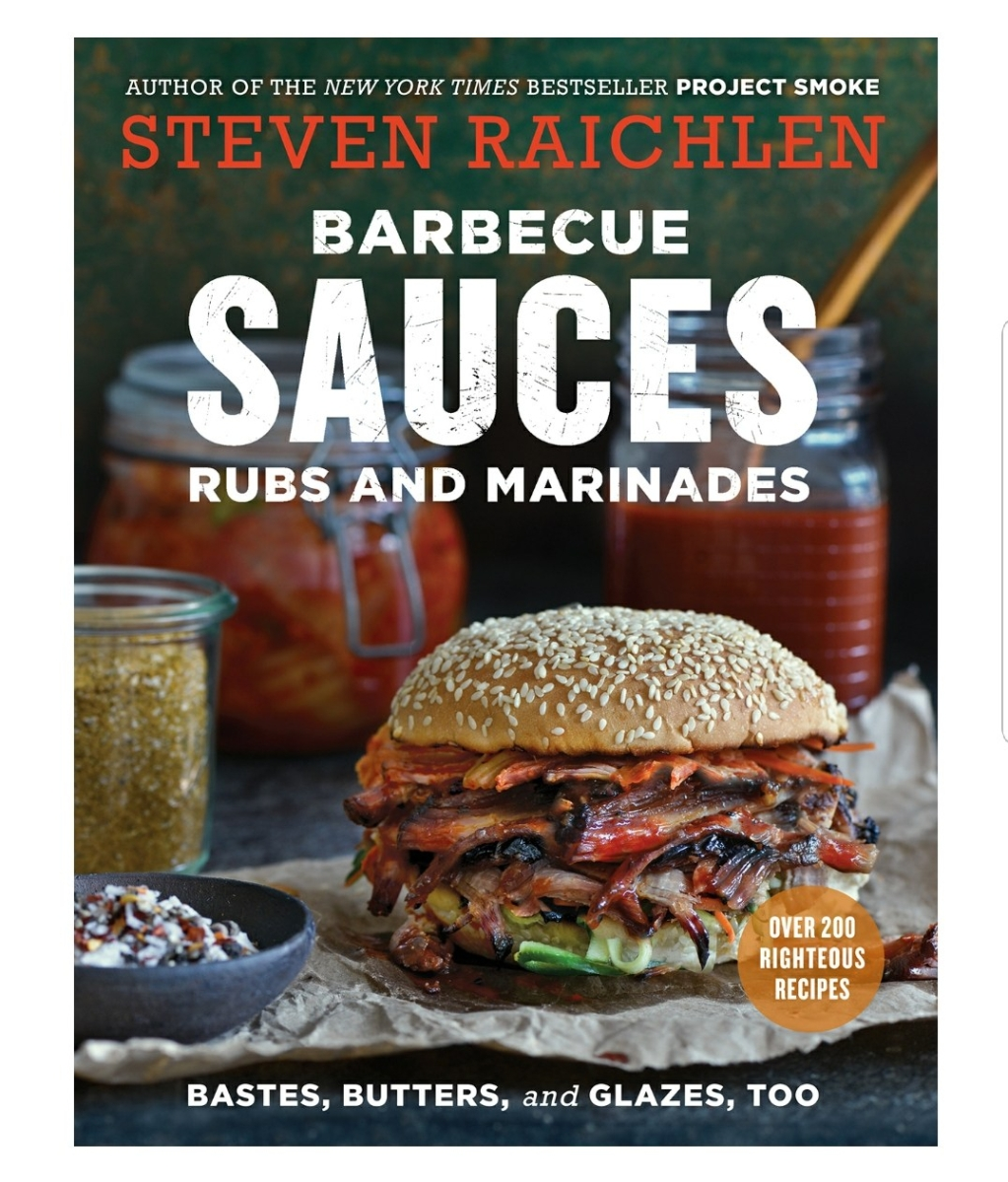 "Brief Book Review: ""Barbecue Sauces, Rubs, and Marinades"" by Steven Raichlen"