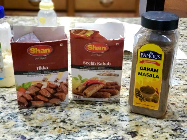 Which go best with smashburgers? Garam Masala vs Tikka vs Seekh Kabob