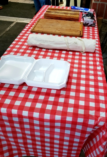 Our table for the VRIC Great Texan Cookoff.
